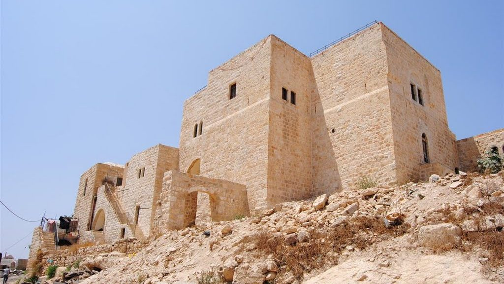 Mountain village-fortress of Ras Karkar